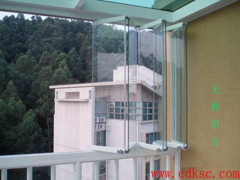 连体阳台设计图